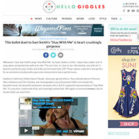 Hello Giggles Article
